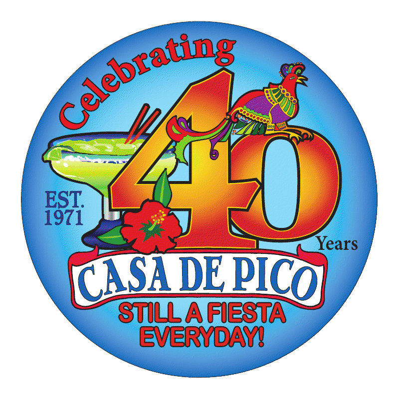 Casa de Pico 40th Anniversary Celebration November 4th and 5th