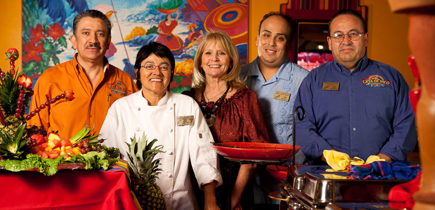 Casa de Pico La Mesa Staff: At Your Service