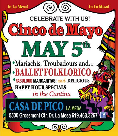 Casa de Pico Celebrates Cinco de Mayo