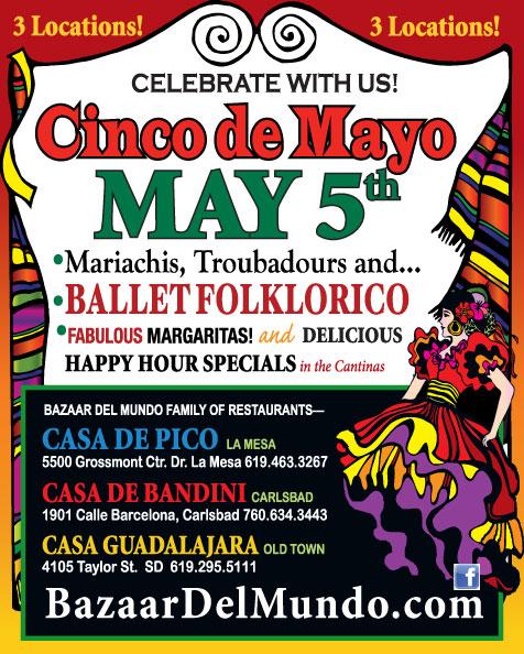 Bazaar del Mundo Cinco de Mayo Celebrations