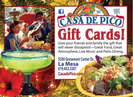 Casa de Pico Gift Cards