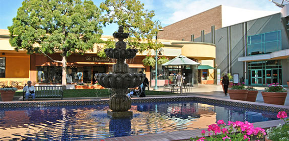 Grossmont Center Fountain. Image from SanDiegan.com.